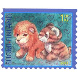 Leluja  postimerkki 1 luokka