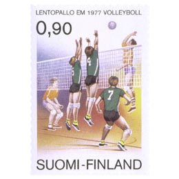 Lentopalloilun EM-kisat  postimerkki 0