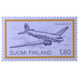 Lentopostikuljetus - Douglas DC 3  postimerkki 1