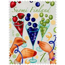 Lentosuukkoja - Juhlat  postimerkki 1 luokka