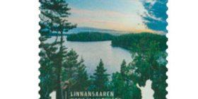 Linnansaaren kansallispuisto  postimerkki 1 luokka