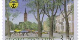 Loviisa 250 vuotta  postimerkki 3