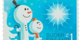 Lumiukot  postimerkki 1 luokka