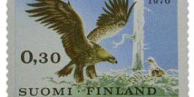 Luonnonsuojelu -Maakotka  postimerkki 0