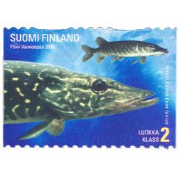 Maakuntakalat: Hauki  postimerkki 2 luokka