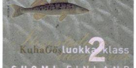 Maakuntakalat - Kuha  postimerkki 2 luokka