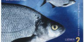 Maakuntakalat: Lahna  postimerkki 2 luokka