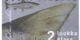 Maakuntakalat - Lohi  postimerkki 2 luokka
