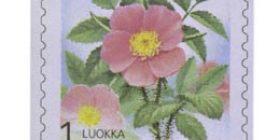 Maakuntakukat - Karjalan ruusu  postimerkki 1 luokka