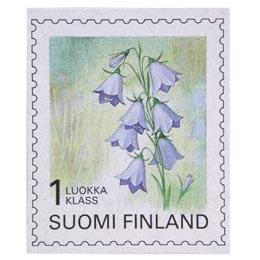 Maakuntakukat - Kissankello  postimerkki 1 luokka