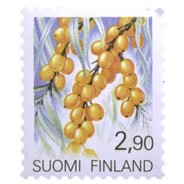 Maakuntakukat - Tyrni  postimerkki 2
