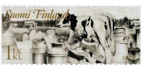 Maalaisromantiikkaa - Maatalous  postimerkki 1 luokka