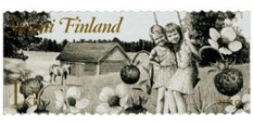 Maalaisromantiikkaa - Marjoja  postimerkki 1 luokka