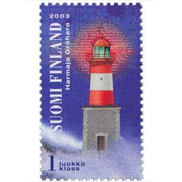 Majakat - Harmaja  postimerkki 1 luokka