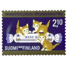 Makeisteollisuus Suomessa 100 vuotta  postimerkki 2
