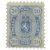 Malli 1875 sininen postimerkki 0