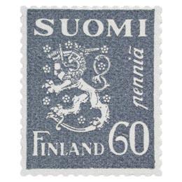 Malli 1930 Leijona harmaa postimerkki 0