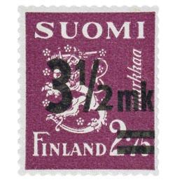 Malli 1930 Leijona lila postimerkki 3