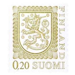 Malli 1975 Vaakuna oliivi postimerkki 0