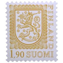 Malli 1975 Vaakuna oranssi postimerkki 1