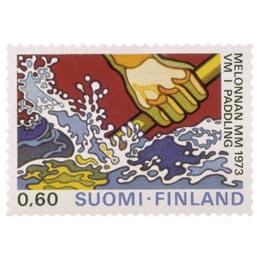 Melonnan MM-kilpailut  postimerkki 0