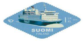 Merellinen Pohjola - Finnjet  postimerkki 1 luokka
