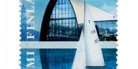 Merellinen Pohjola - Suomen Puuvenekeskus  postimerkki 1 luokka