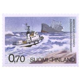 Meripelastustoiminta  postimerkki 0