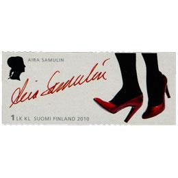 Merkkinaisia - Aira Samulin  postimerkki 1 luokka