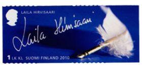 Merkkinaisia - Laila Hirvisaari  postimerkki 1 luokka