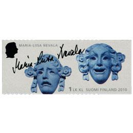 Merkkinaisia - Maria-Liisa Nevala  postimerkki 1 luokka