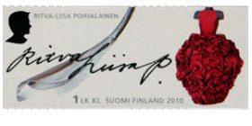 Merkkinaisia - Ritva-Liisa Pohjalainen  postimerkki 1 luokka