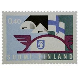 Messutoiminta  postimerkki 0