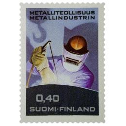 Metalliteollisuus  postimerkki 0