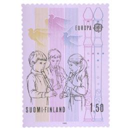 Musiikki ja musiikinopetus  postimerkki 1