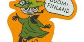 Muumisuosikit - Nuuskamuikkunen  postimerkki 1 luokka