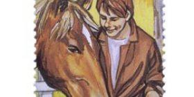 Nuorten harrastuksia - Ratsastus  postimerkki 2 markka
