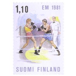 Nyrkkeilyn EM-kilpailut  postimerkki 1