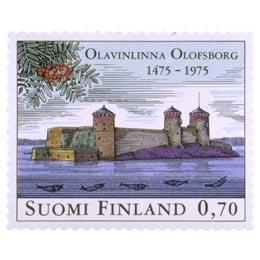 Olavinlinna 500 vuotta  postimerkki 0