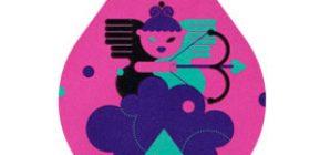 Onnen pisaroita - Amor  postimerkki 1 luokka