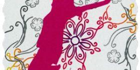 Onnenhyppy - Karmiini  postimerkki 1 luokka