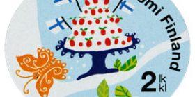 Onnenpuu - Kakku  postimerkki 2 luokka