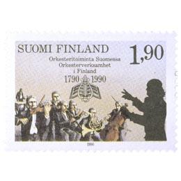 Orkesteritoiminta Suomessa 200 vuotta  postimerkki 1