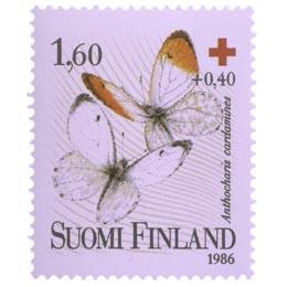 Perhosia - Auroraperhonen  postimerkki 1