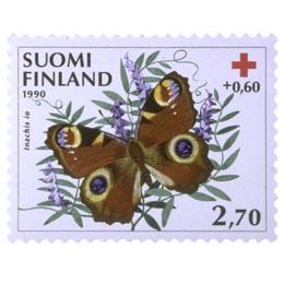 Perhosia - Neitoperhonen  postimerkki 2