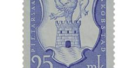 Pietarsaari 300 vuotta sininen postimerkki 25 markka