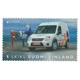 Postin jakeluautot - Ford Transit Connect  postimerkki 1 luokka