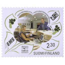 Postivirkamiesliitto 100 vuotta  postimerkki 2
