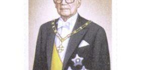 Presidentti Kekkonen 80 vuotta  postimerkki 1