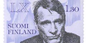 Presidentti Koivisto 60 vuotta  postimerkki 1